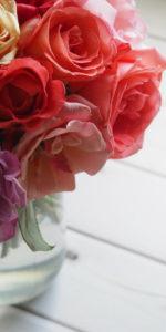 Rosenstrauss in der Vase, Jeff Watters, 400, bearbeitet