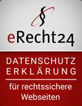 erecht24-siegel-datenschutz-rot, klein