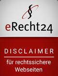 erecht24-siegel-disclaimer-rot, klein